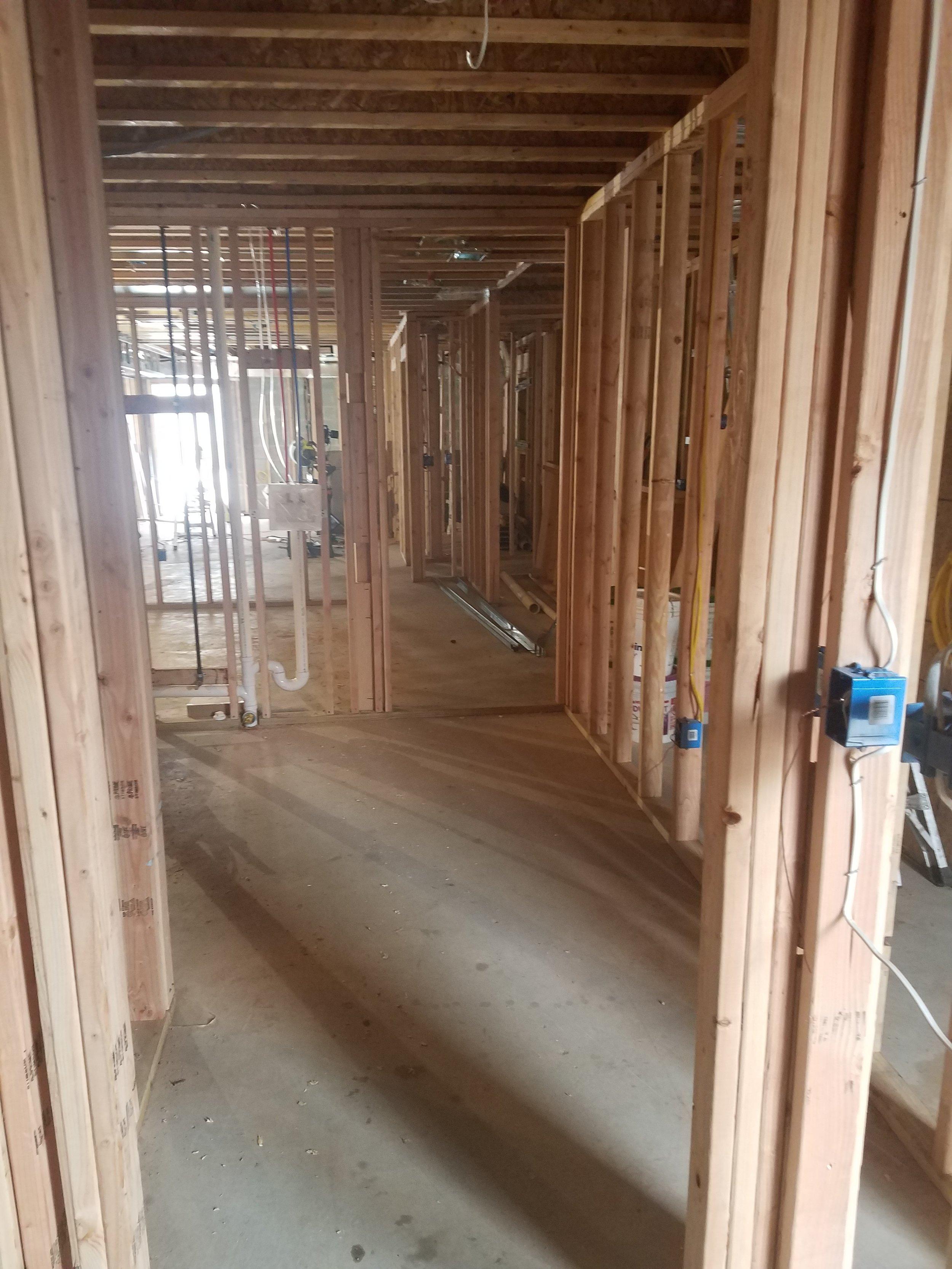 Ground Floor Rough Framing