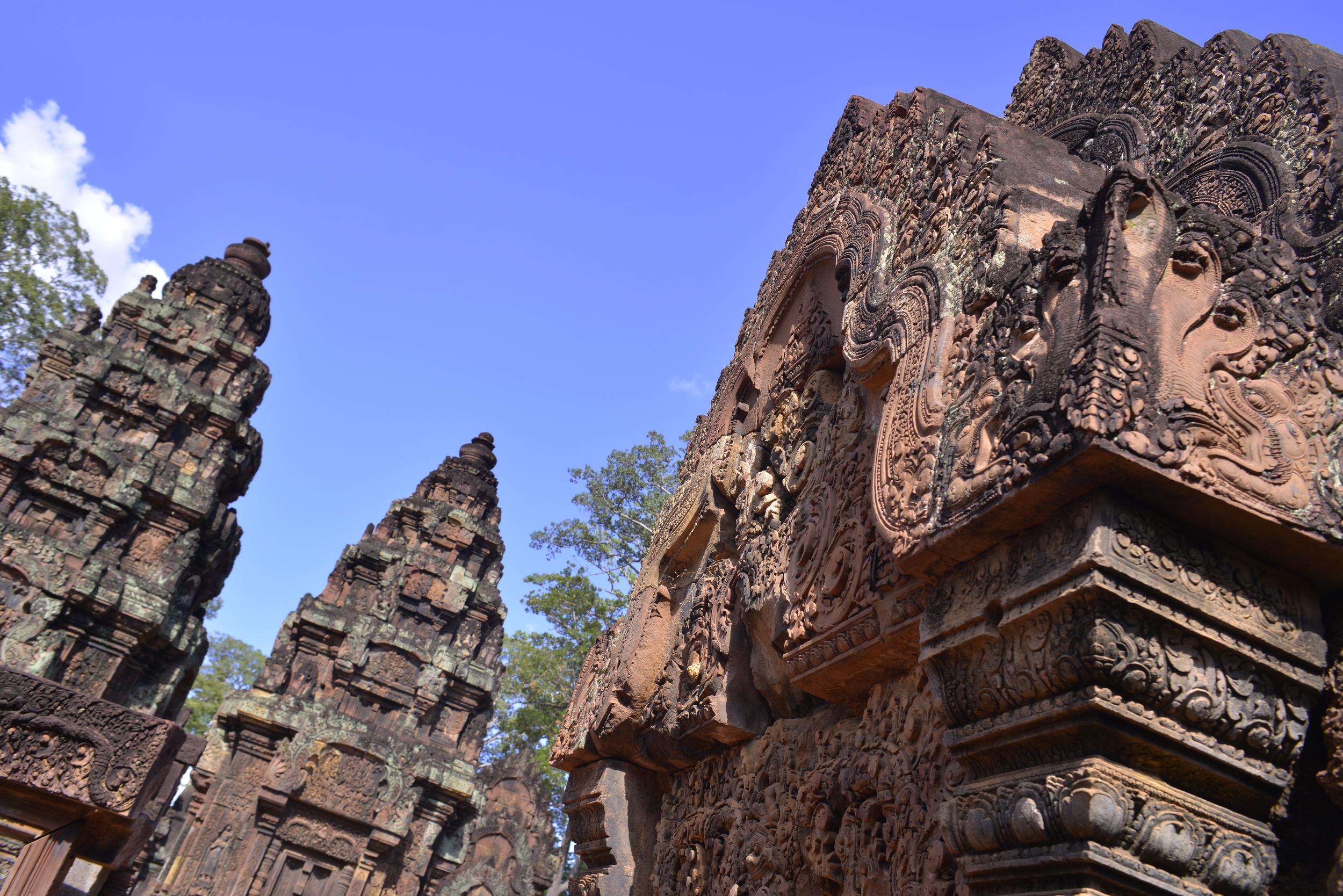 "Banteay Srei temple ""Citadel of the Women"", Siem Reap"