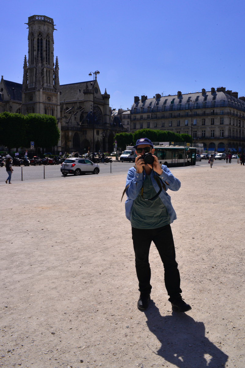 Mark, day one, PARIS! Getting ready to tackle the Louvre.