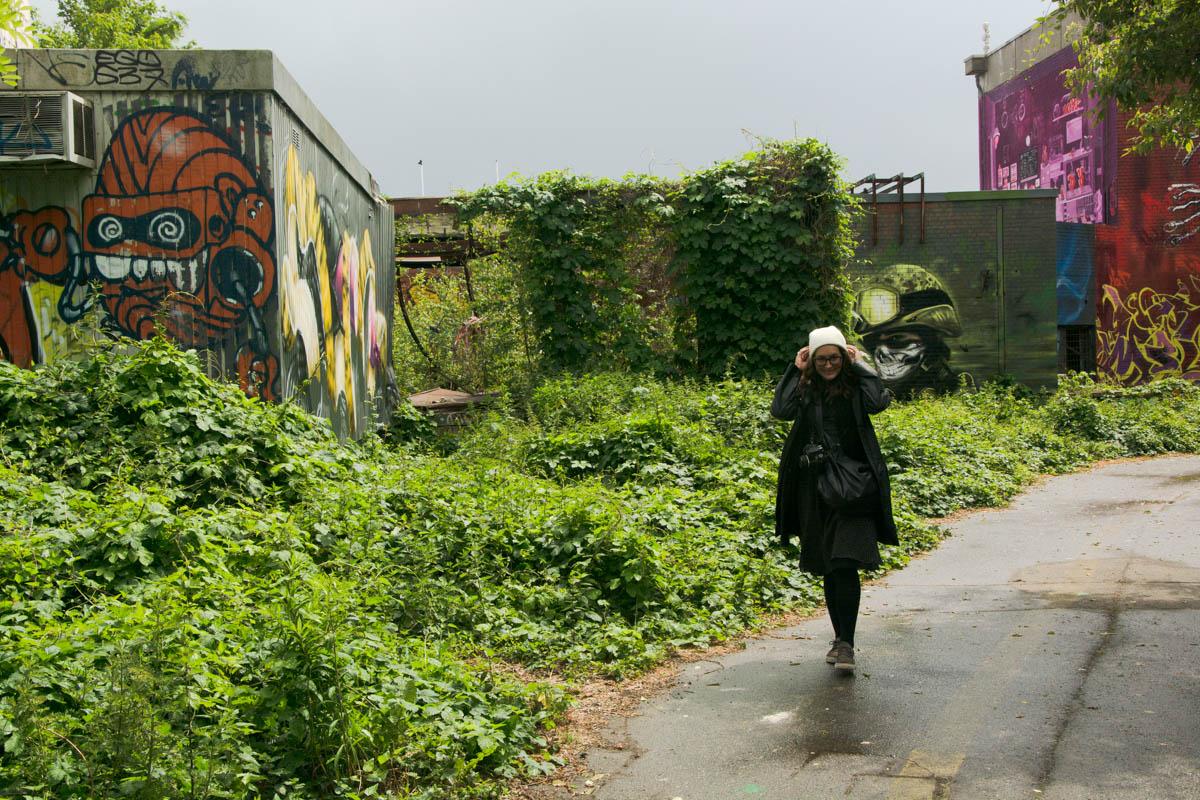Abandoned US spy base, outskirts of Berlin