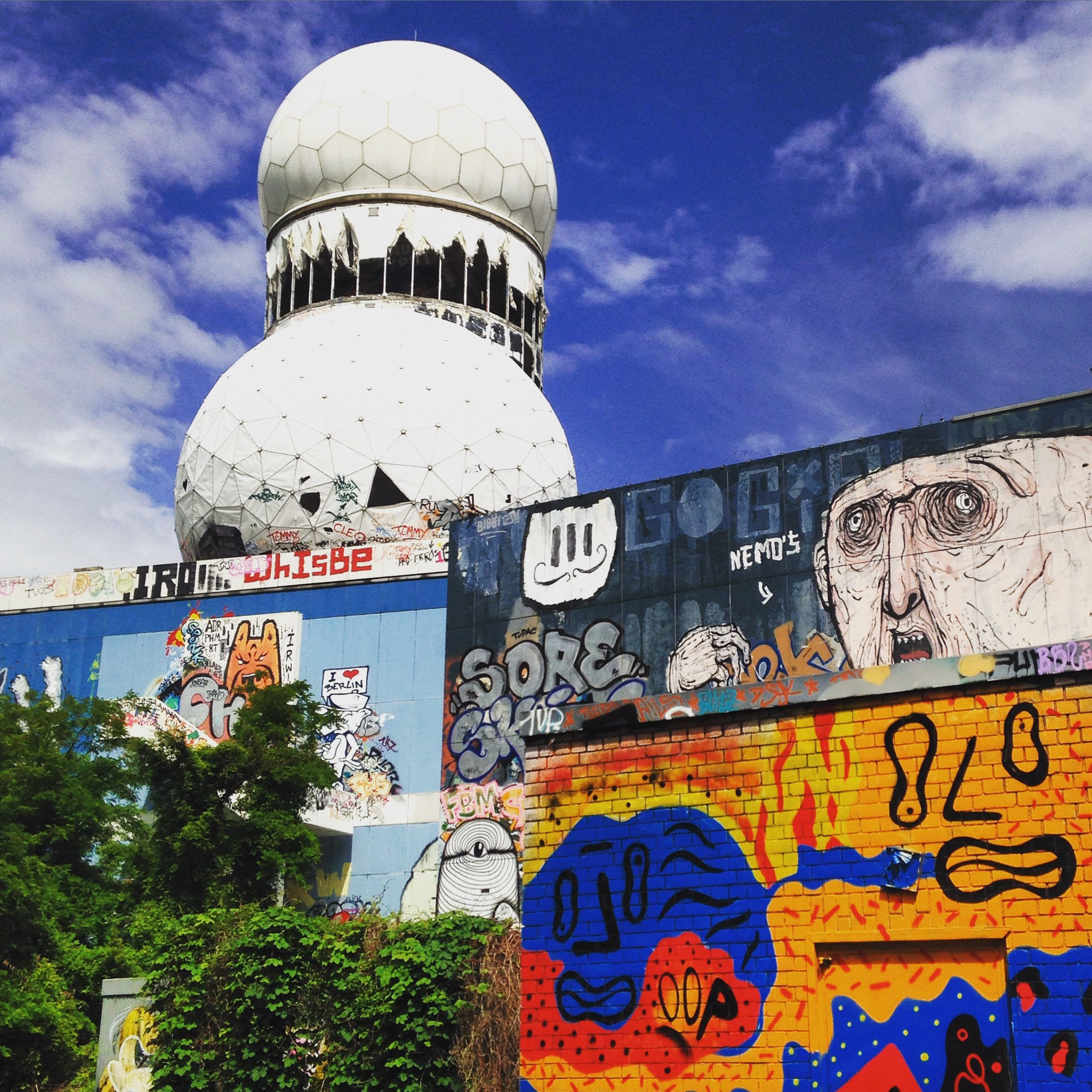 Abandoned US spy base, Berlin