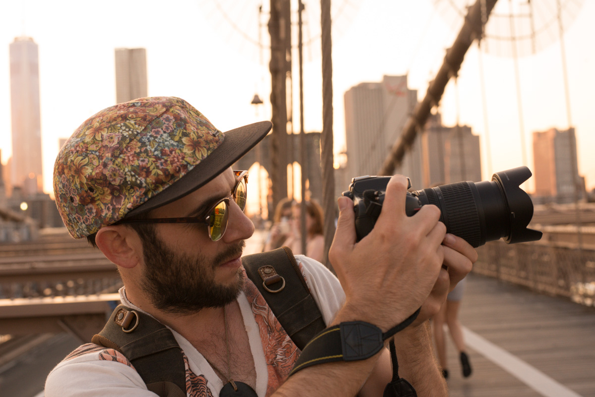 Mark, Brooklyn Bridge