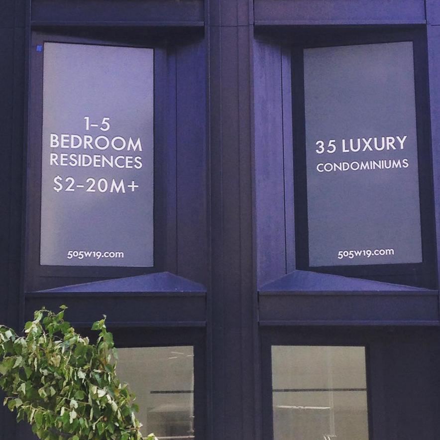 NYC living. 1 bedroom = $2 million.