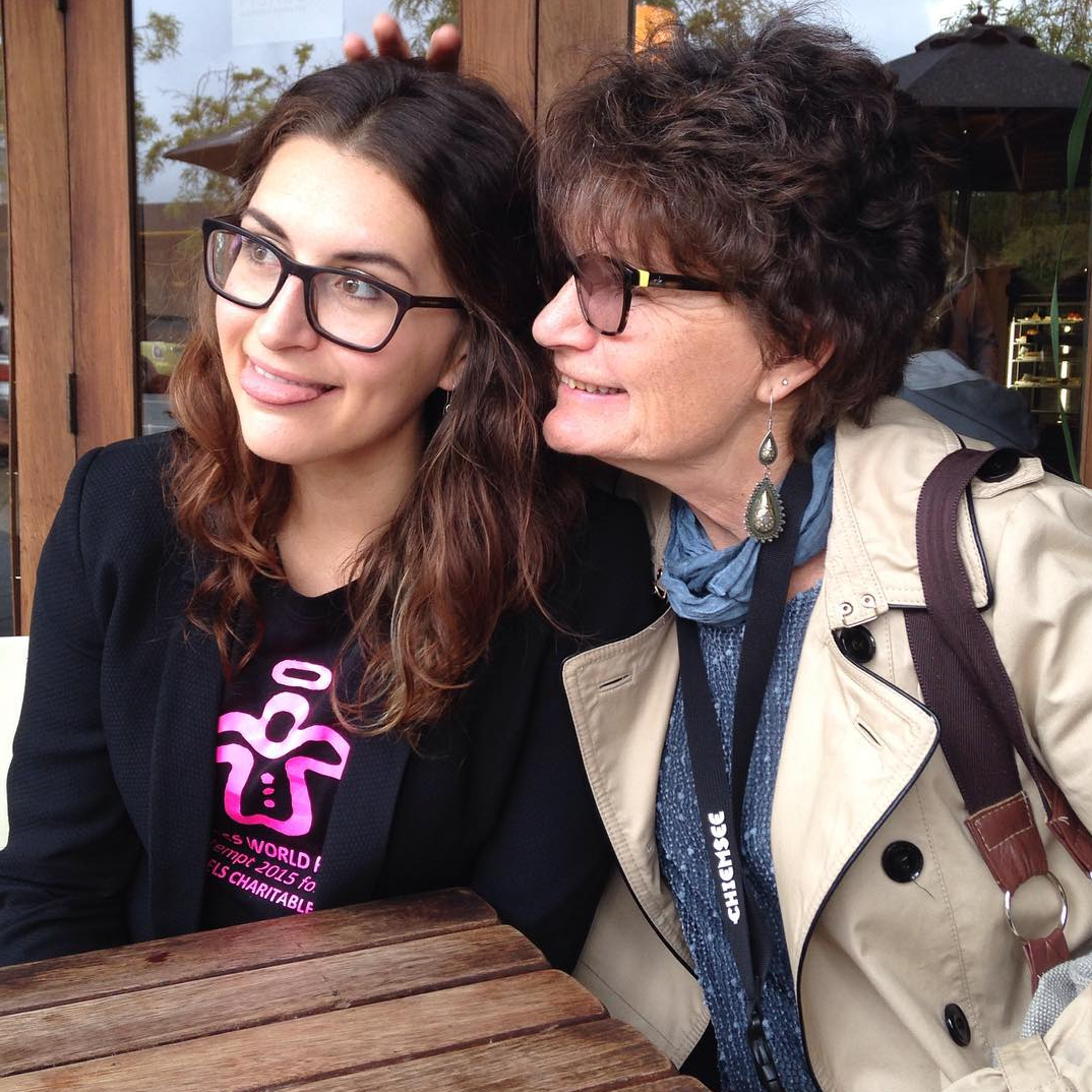 Before The Big Shave with Mama Peach.