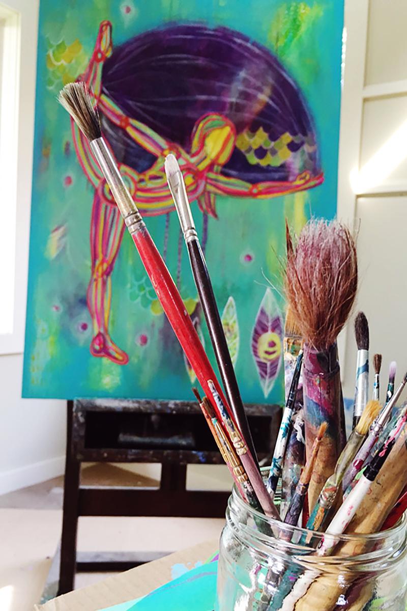Creative Energy Moves in Rhythms -Eliza Lynn Tobin