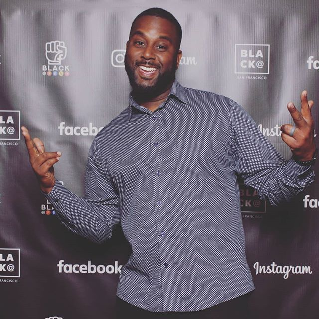 #tbt #aboutlastnight  Being social with the melanated minds of the tech industry at the @facebook #CreativeBlackout event in SF.