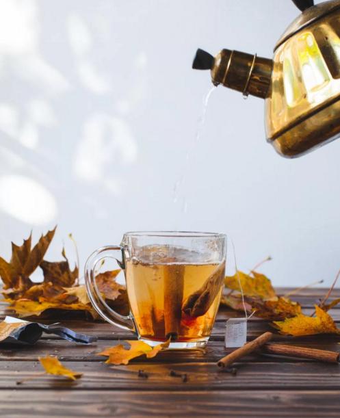 Maple Cider Tea Hot Toddy