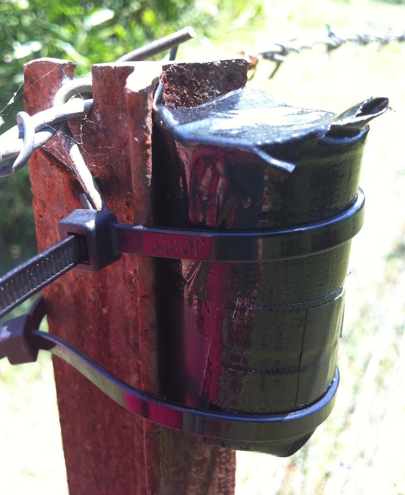 Film Pot Camera secured
