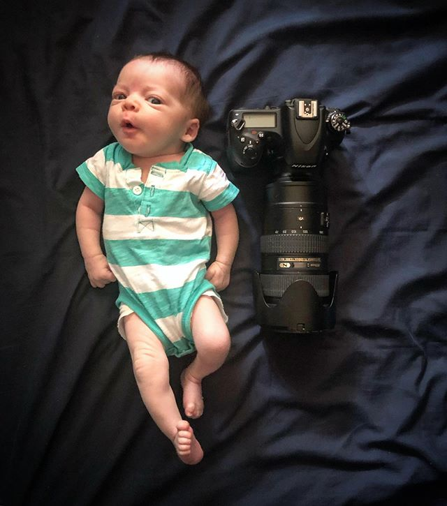 You guys!  We had a baby.  Her name is Archer Elsie Endicott, she's perfect and about size of a D750 +70-200mm.  She's responds strongly to music and likes @thatgirlbishop @dessa and @runthejewels among many others.  I wrote a lot more about the experience here with a ton of other photos including some taken with that camera.  https://www.facebook.com/14501793/posts/10100289943722396  Mom and Baby are super healthy and happy and I've never been happier in my life.
