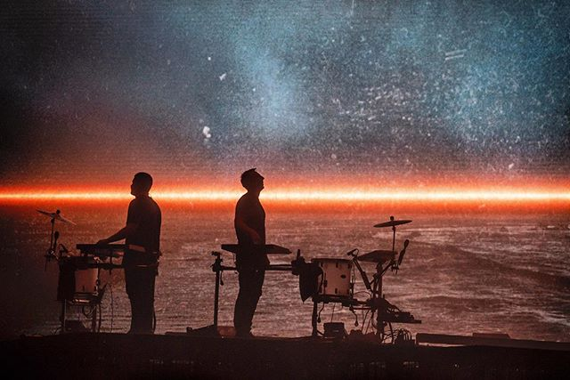 1/3 Every one of @odesza 's sets is better than the last, this one was just otherworldly.  Bellingham brought the energy to match with a sold out show (12,000+ tickets?!) benefitting the WWU Alumni Scholarship Endowment.  This capture felt peaceful, a moment between beats.  Shot for @amazonmusic // 5.18.2018