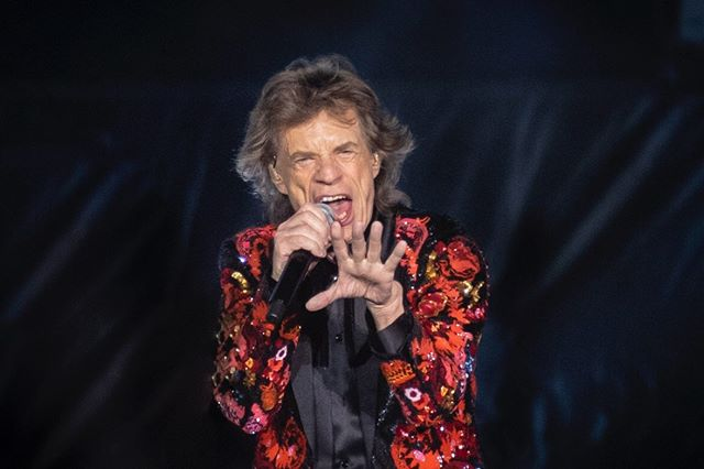 """It's always a pleasure to catch up and coming indie bands that are still a """"best kept secret"""". This frontman and his band have some some real magic, I think if they stay dedicated to their craft they could become something pretty special someday.  @mickjagger of @therollingstones  for @amazonmusic // 8.2019"""