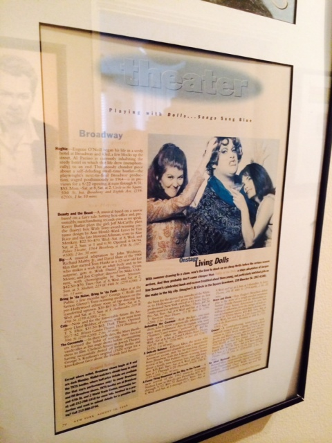 The New York Magazine write-up of Valley of the Dolls featuring Kate and Jackie Beat.