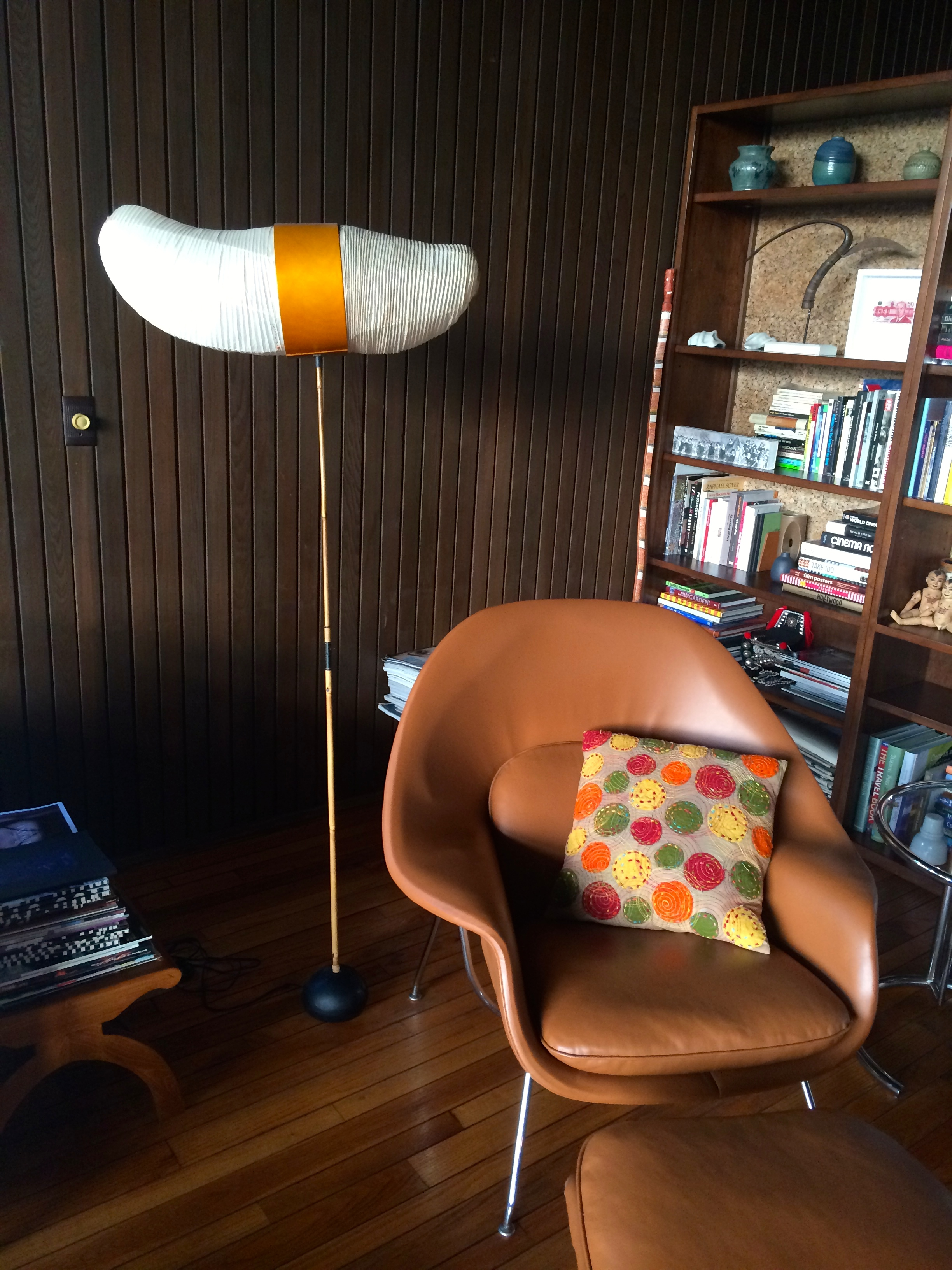 The lamp is from Rachel Griffith's character Brenda's apartment on Six Feet Under