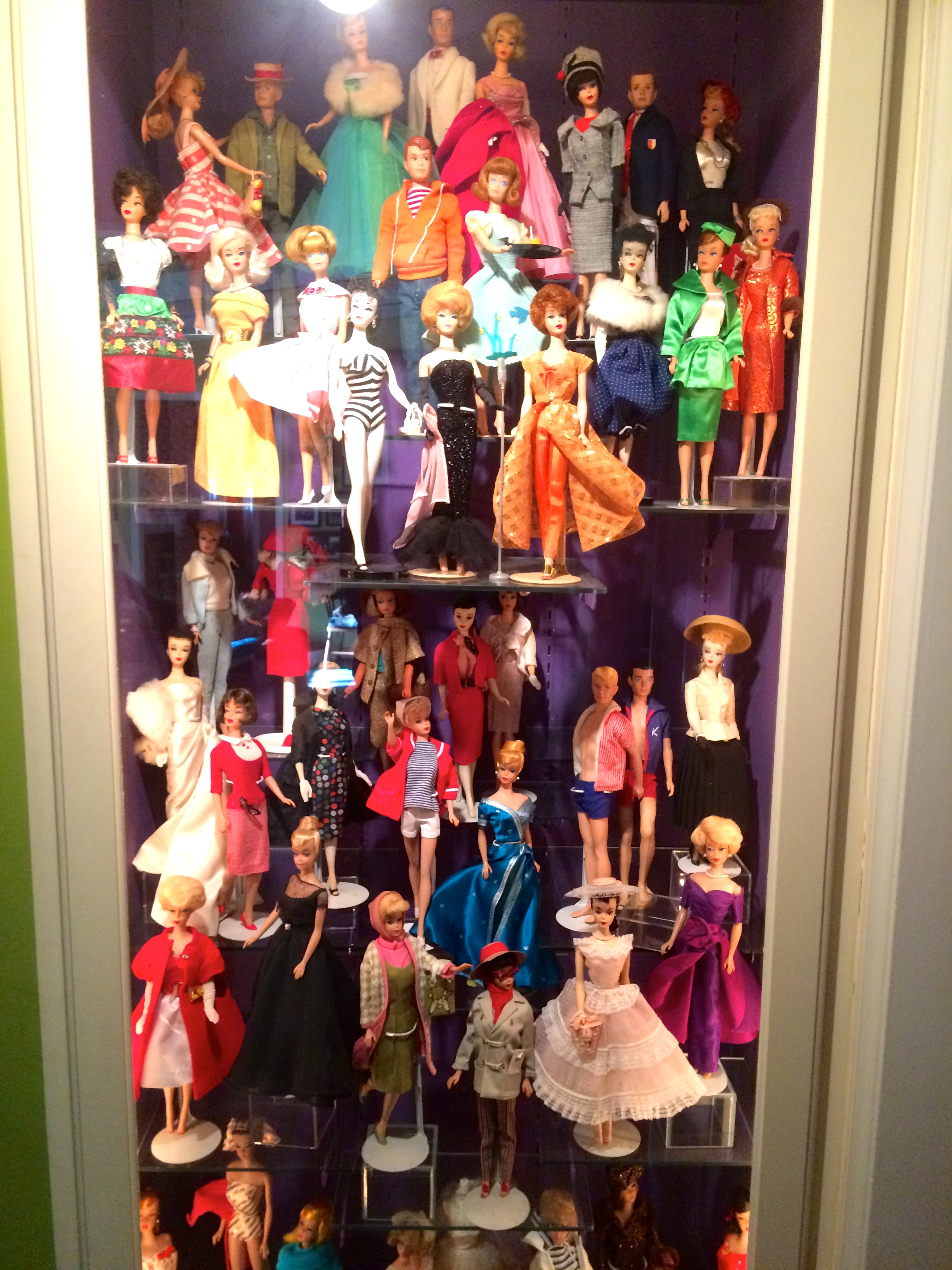 The Barbie showcase.  Solo in the Spotlight is in the center about 1/3 of the way down.