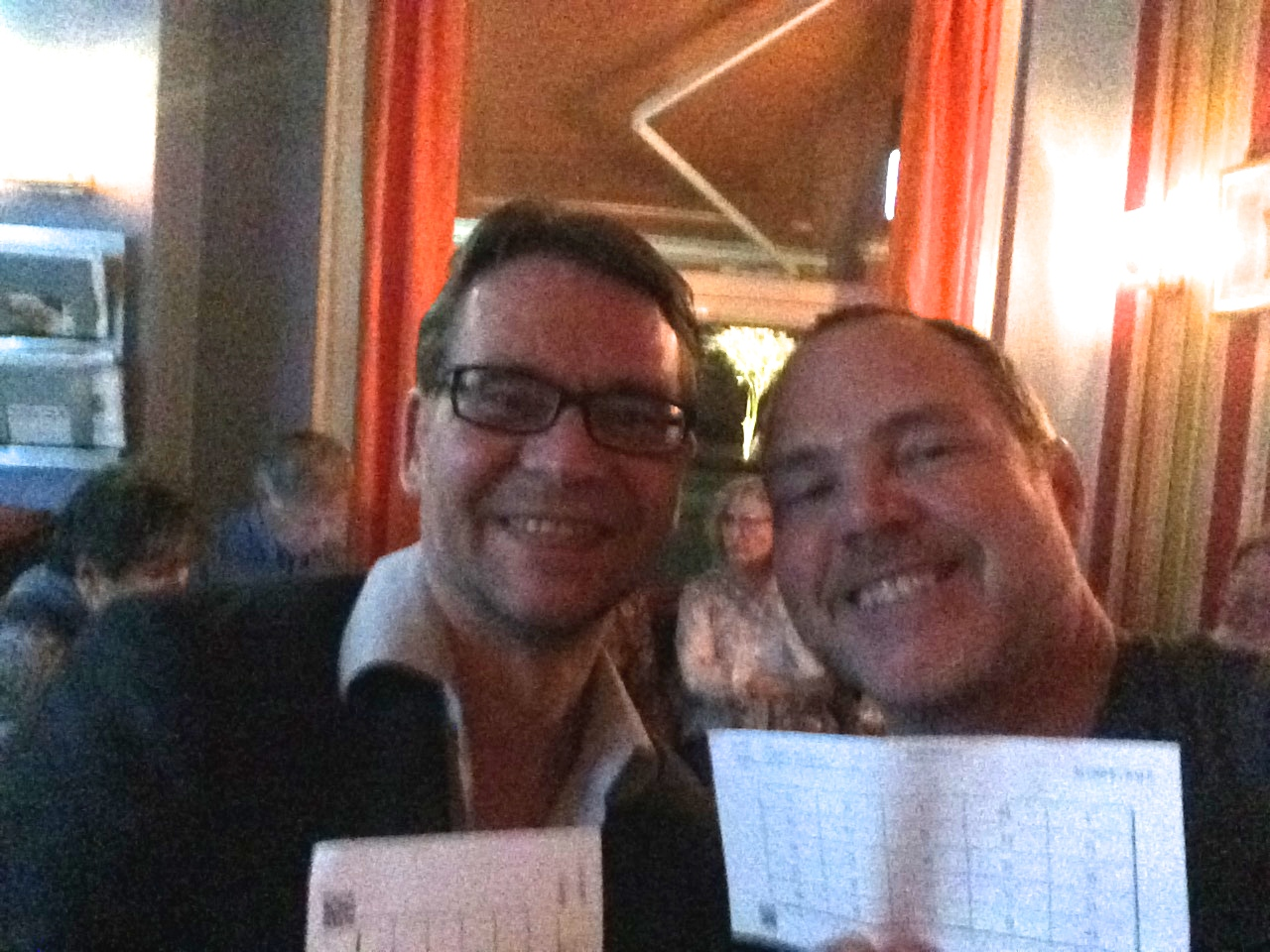 Our night out at Gay Bingo at the club Blond