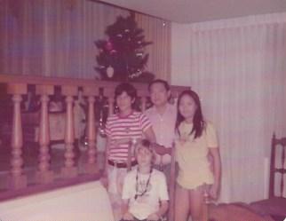 Glenn's host family