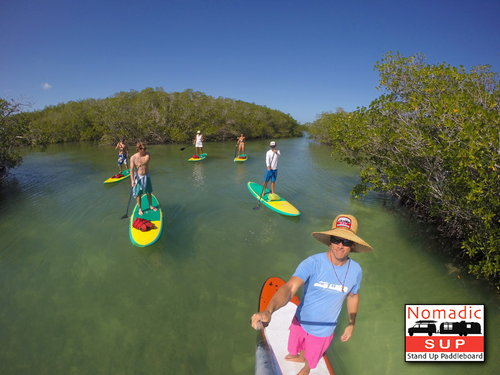 A Stand Up Paddleboard tour