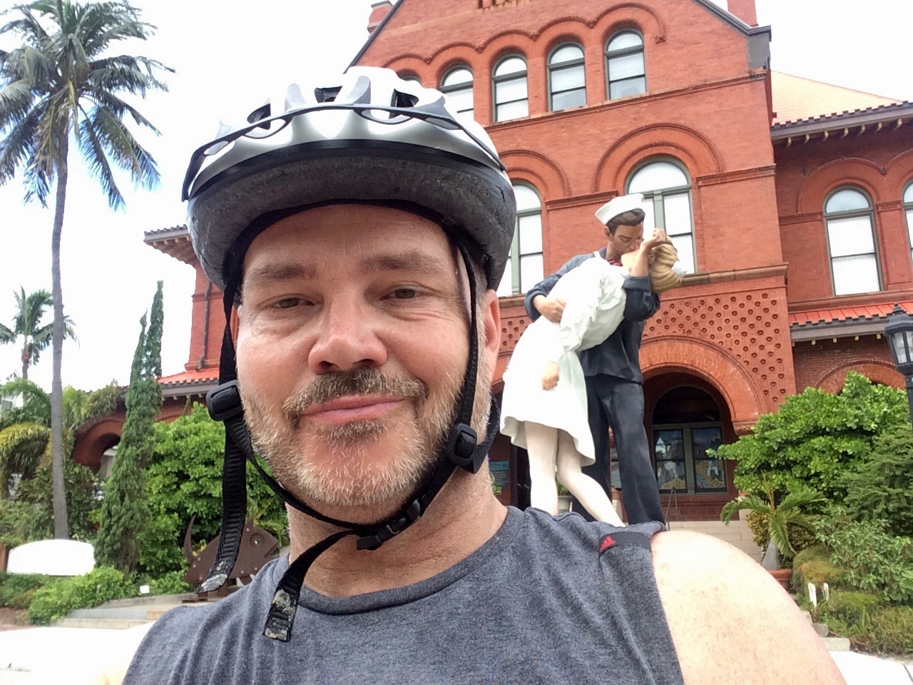 On the Key Lime Bike Tour w/ Our Guide Clint