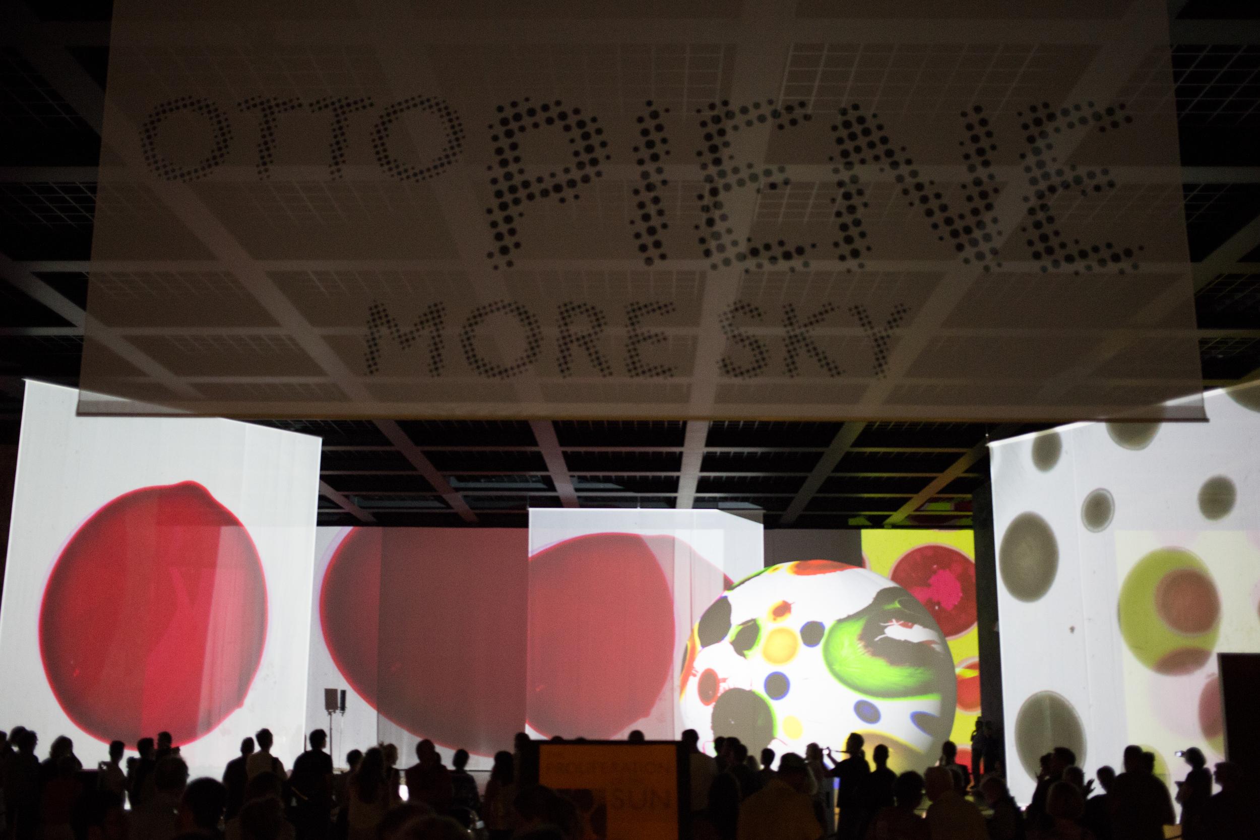Otto Piene Installation at the Neuenational Galerie Berlin