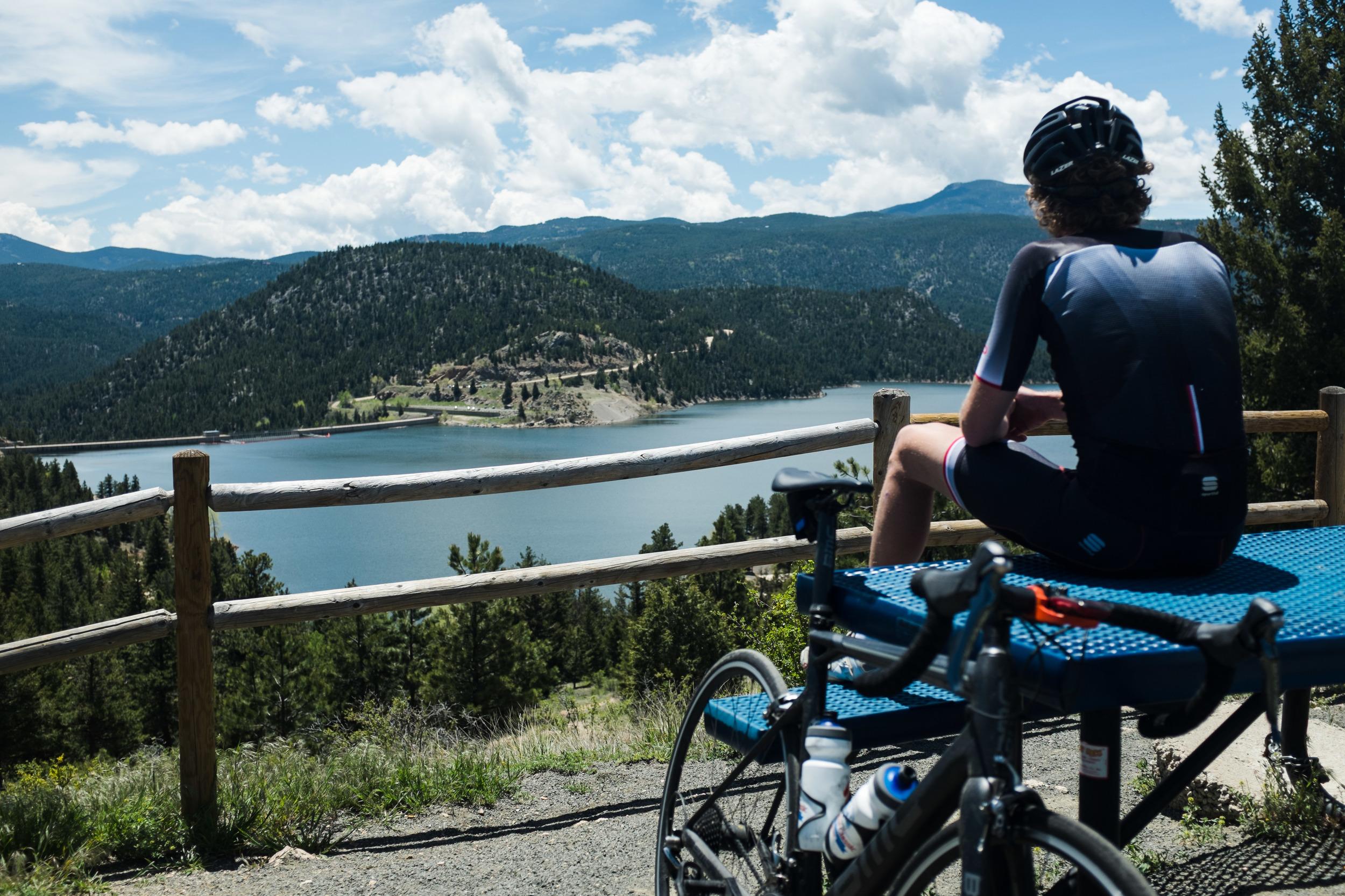 Sportful in Boulder, CO. Post Magnolia Climb