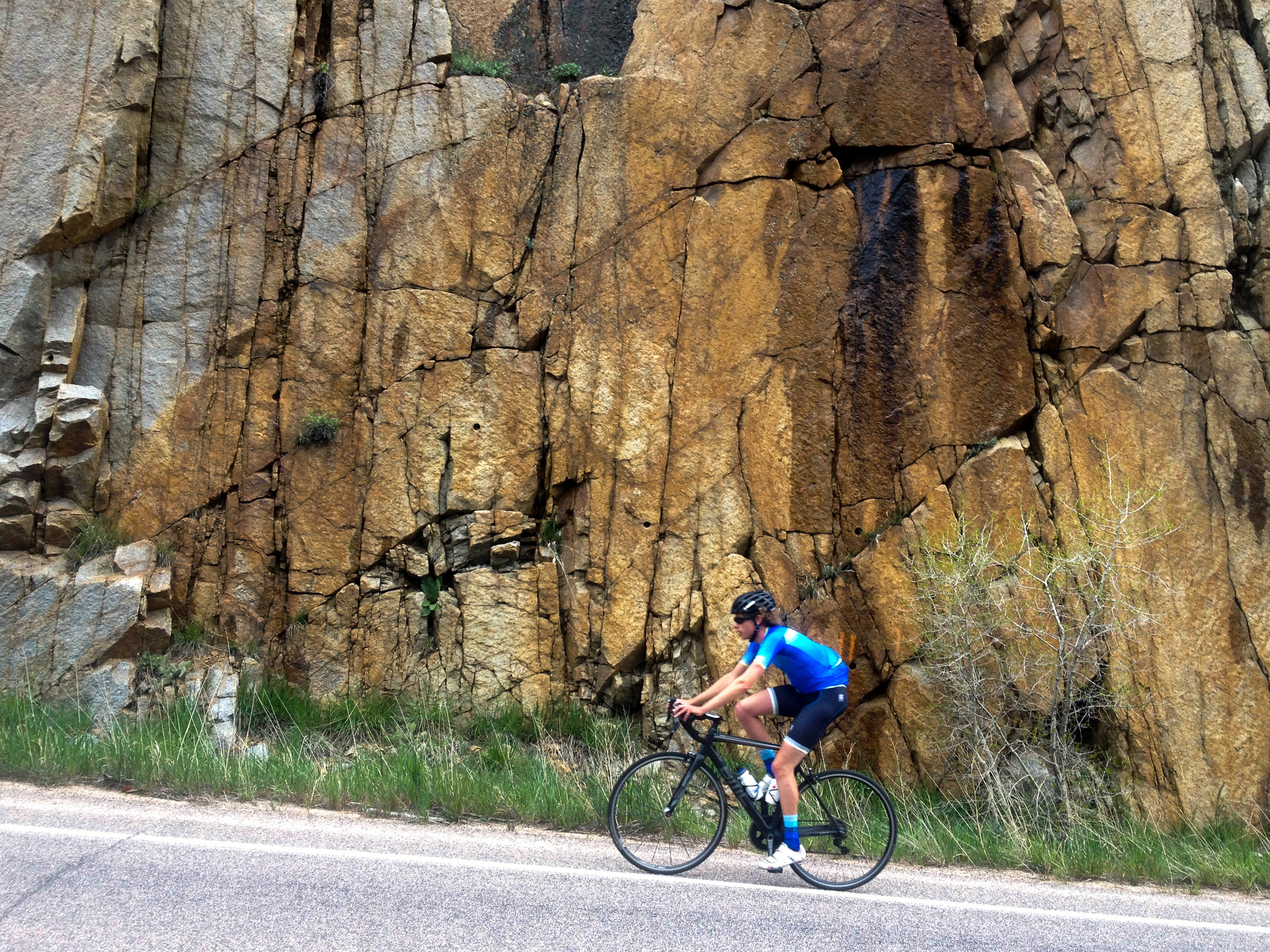 Climbing mountains in style and comfort - Boulder CO