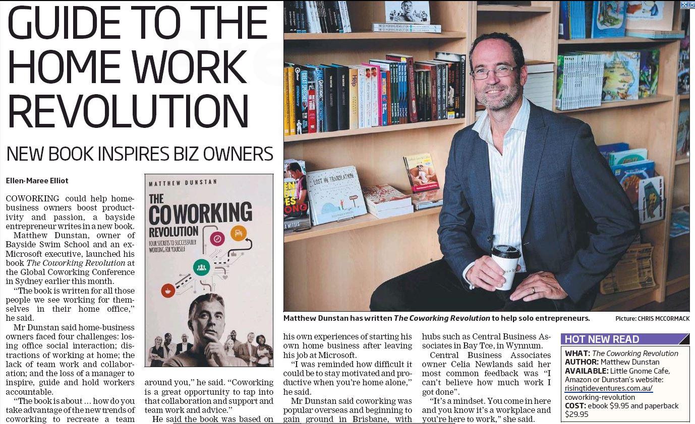 Coworking Revolution - Wynnum Herald