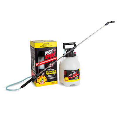 PestXpert Outdoor Perimeter is a great option for injecting into green tree ant nests.