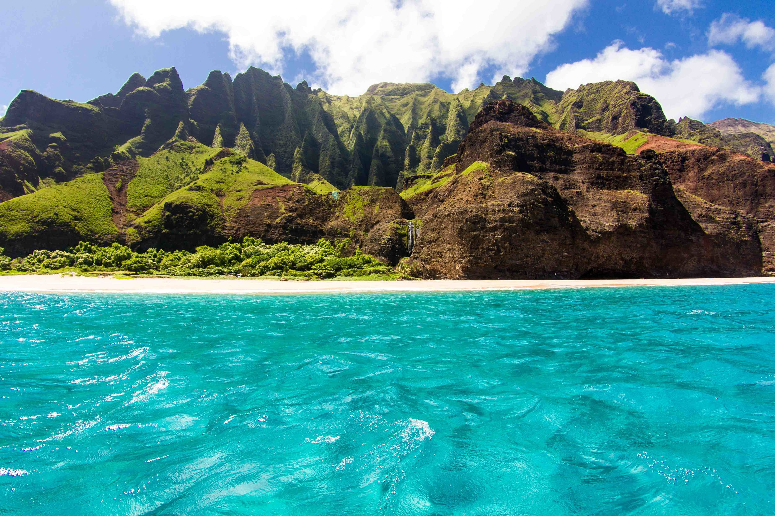 Discover Beauty   Napali Coast of Color and Wonder - June through October   BOOK TODAY