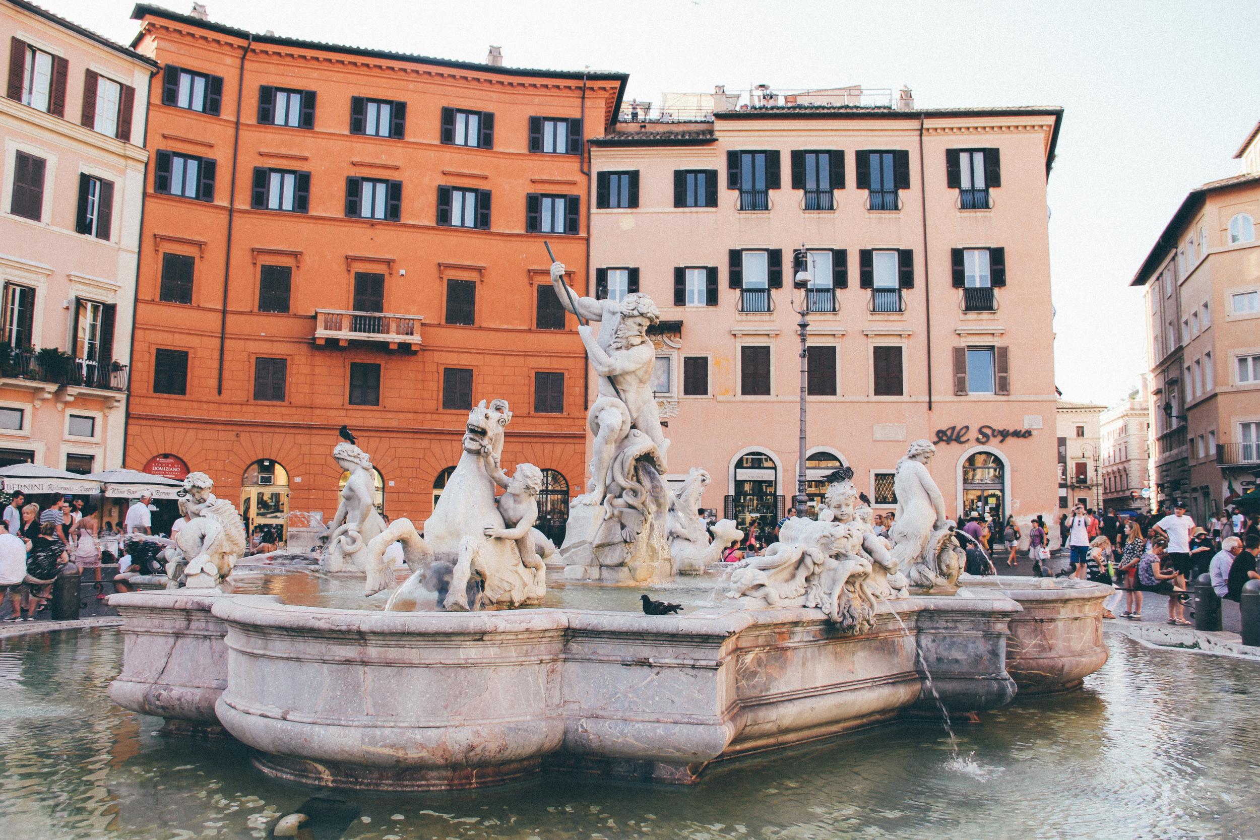 Fontana del Nettuno (Fountain of Neptune)