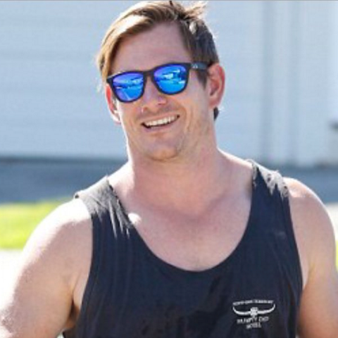 Bachelor star Dave wearing our newport styles