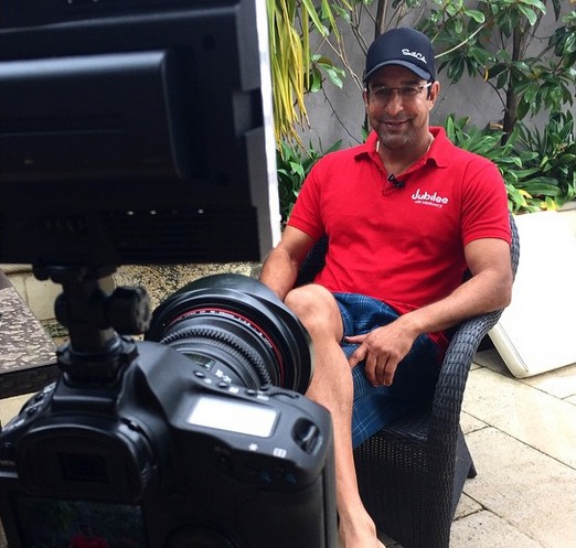 Wazim Akram, one of the world's best cricketers rocking the South Cali trucker Hat!