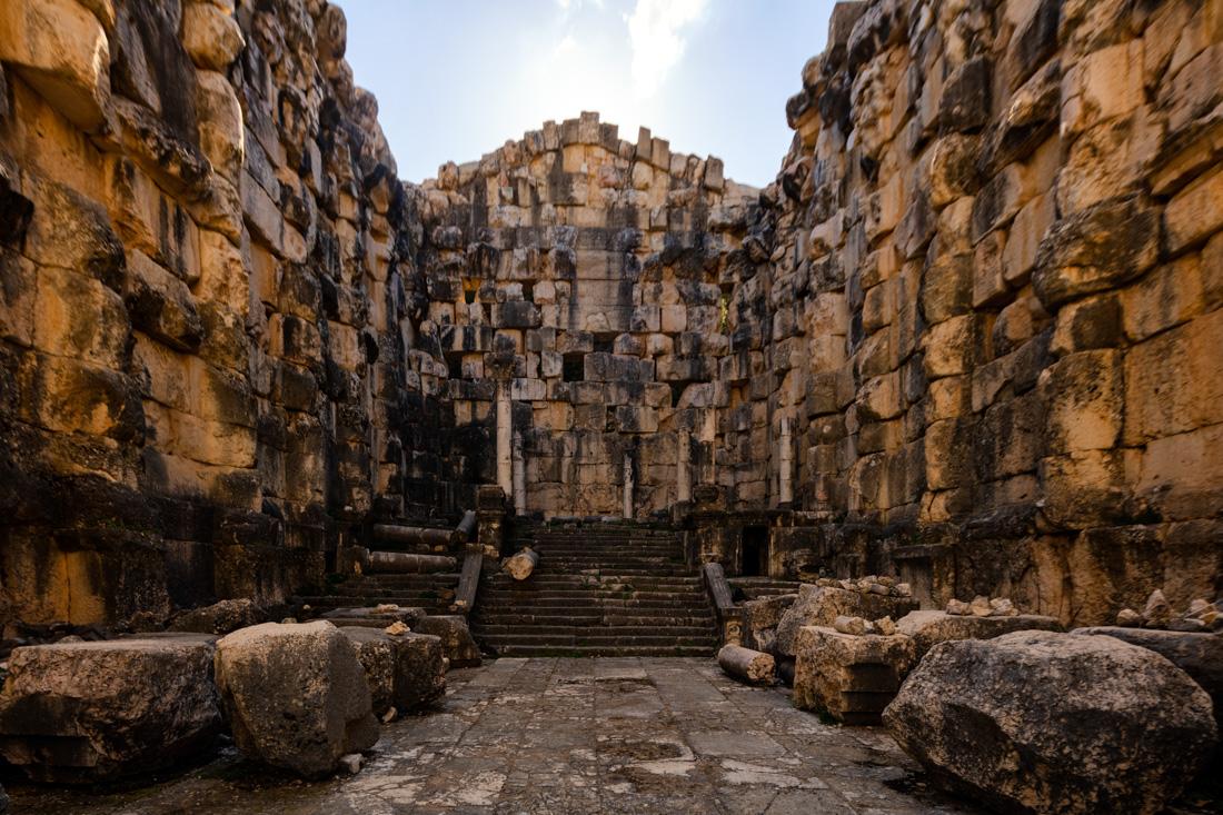 Niha Temple in Lebanon.