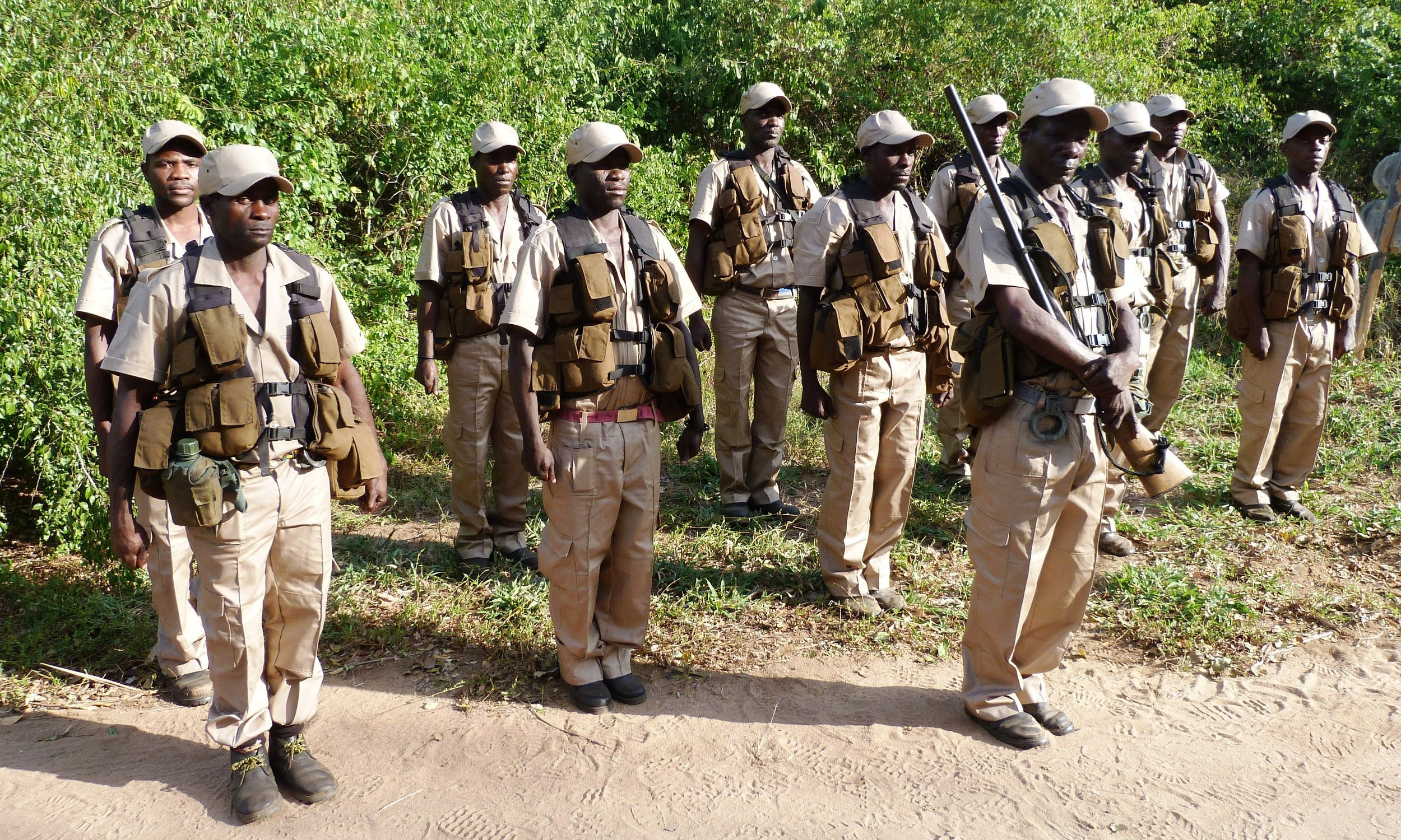 TCT Dalmann Anti poaching team