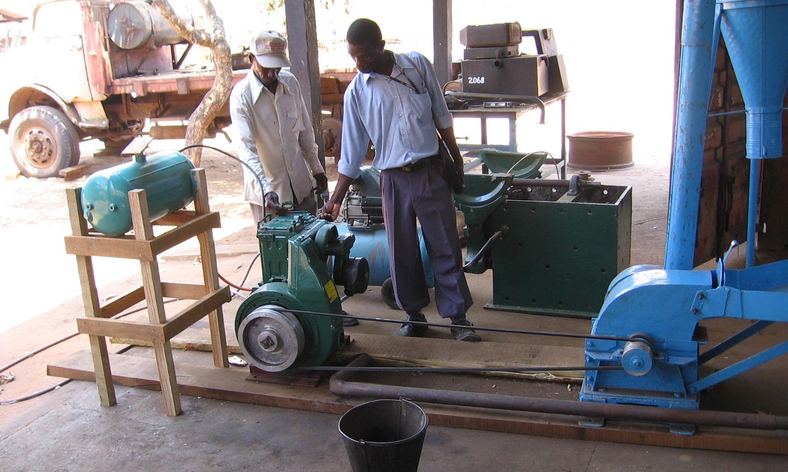 O Segundo moinho  - Second grinding mill