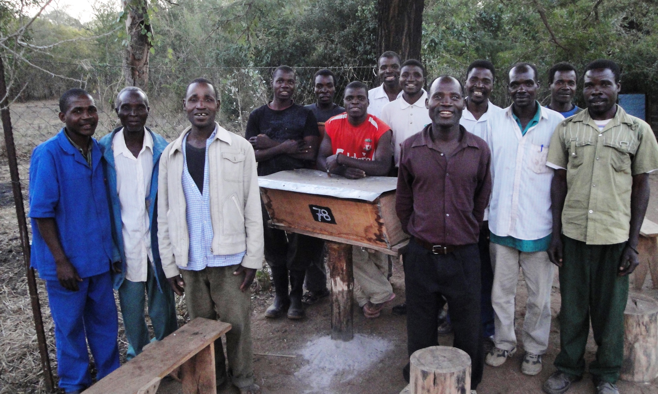 Formação da comunidade no centro de Catapu  - Community training atthe Catapu centre