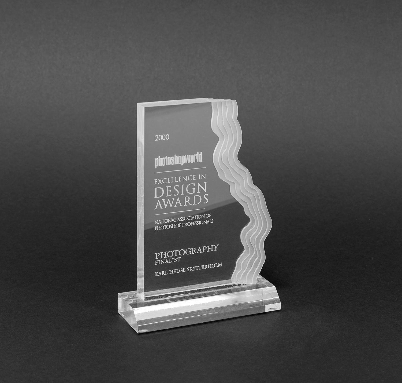 Finalist (topp 3) Kat : retusj  Photshop guru awards 2000, orlando (fl)