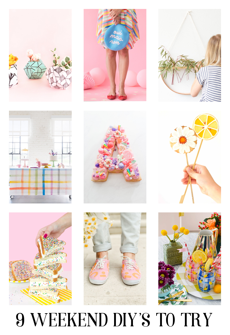 9 Summery Diy's To Make #diy #crafts #summer #summerdiys #weekenddiys