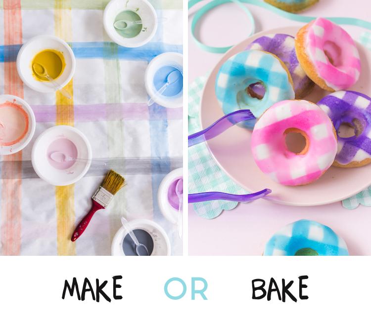 Make Or Bake - Gingham