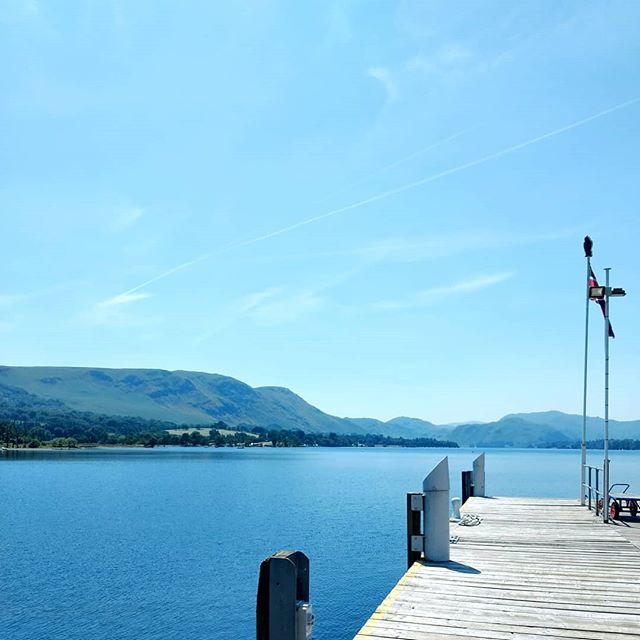 Beautiful weather for our trip to Ullswater ☀️🚢🕶️