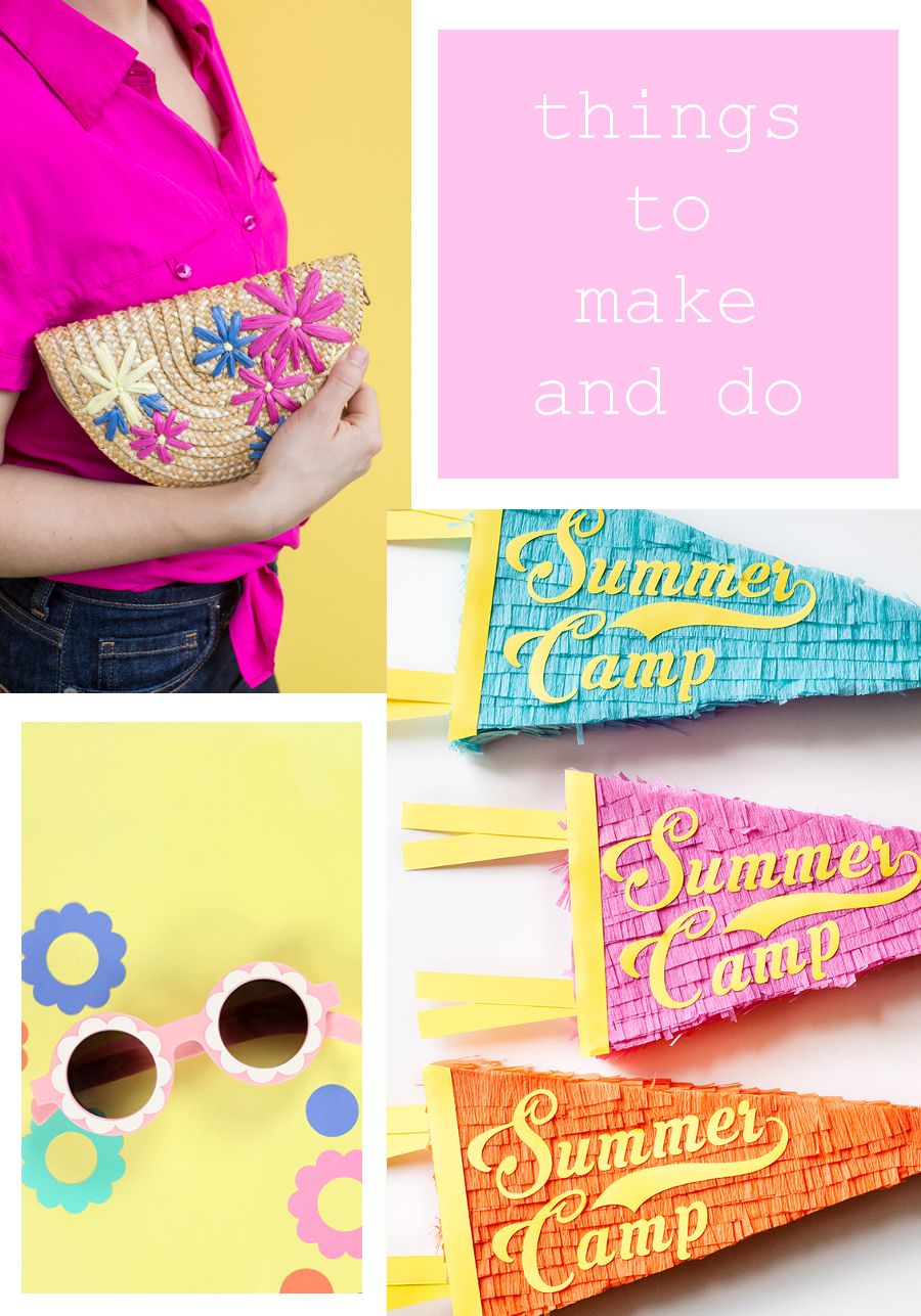 Things to make and do - Summer Crafts