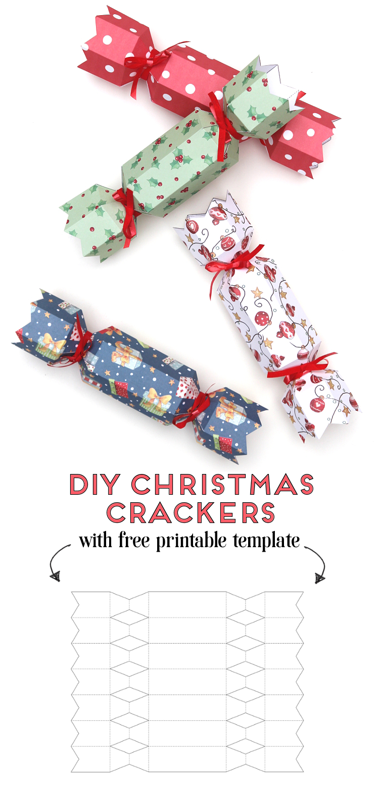 BEAUTIFUL CHRISTMAS CRACKER TOPPERS FOR CARDS /& CRAFTS