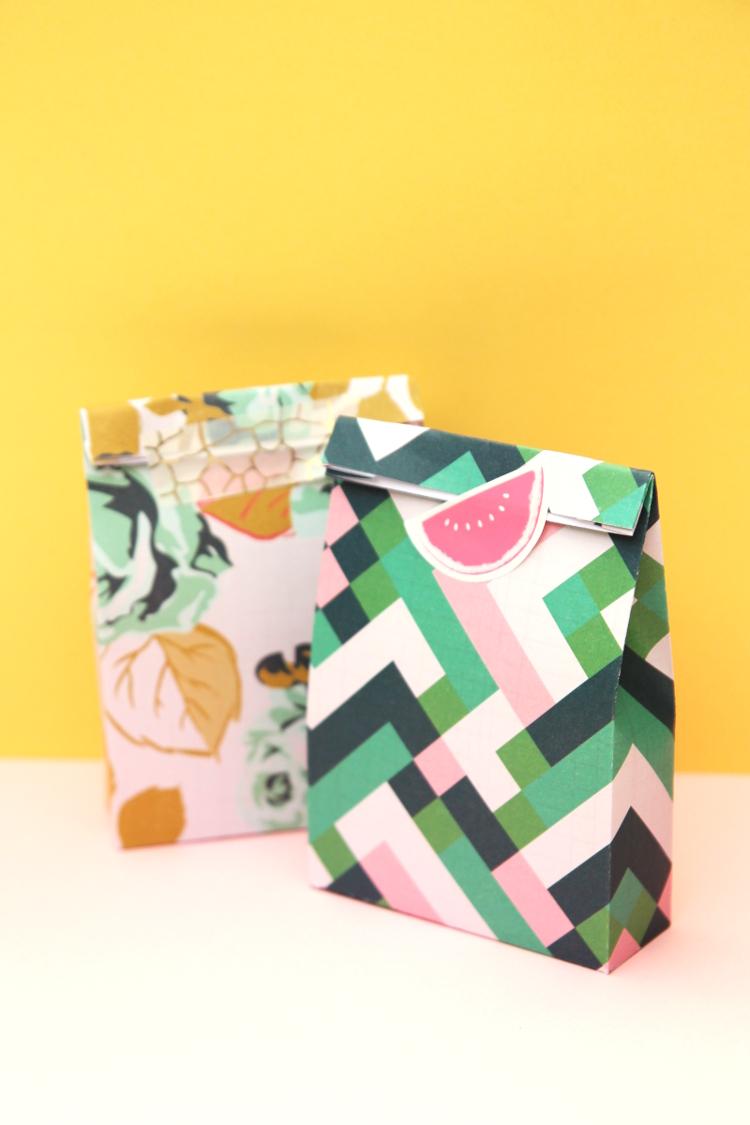 Mini Printable Gift Bags With Free