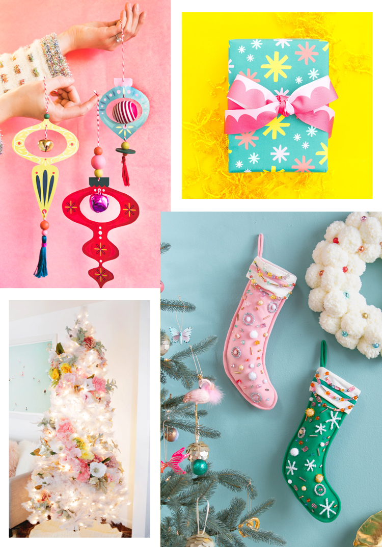 4 CHRISTMAS CRAFTS TO MAKE THIS HOLIDAY SEASON #christmas #christmascrafts #holidaycrafts #crafts #diy #roundup #gatheringbeauty