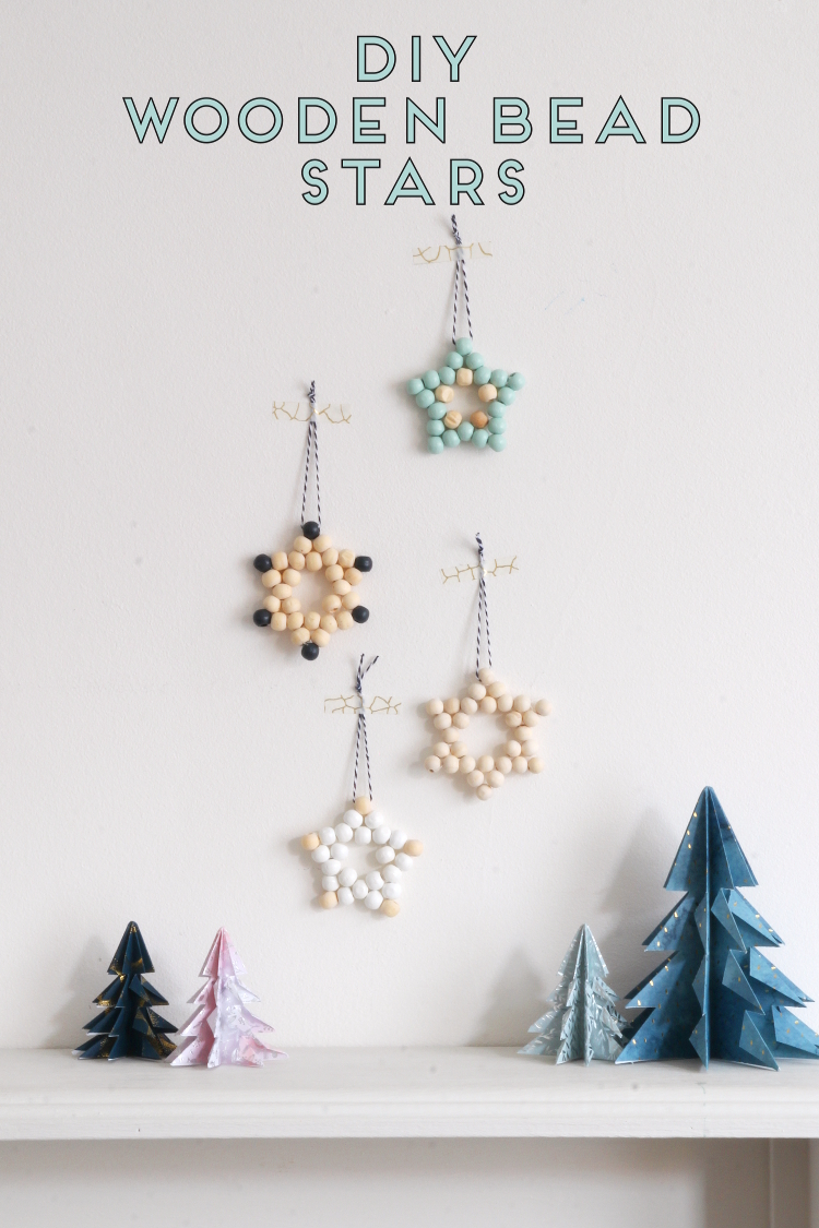 How To Make Wooden Bead Star Christmas