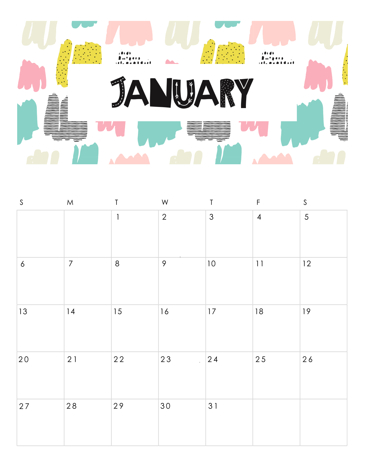 free-printable-abstract-patterned-calendar-2019-january.jpg