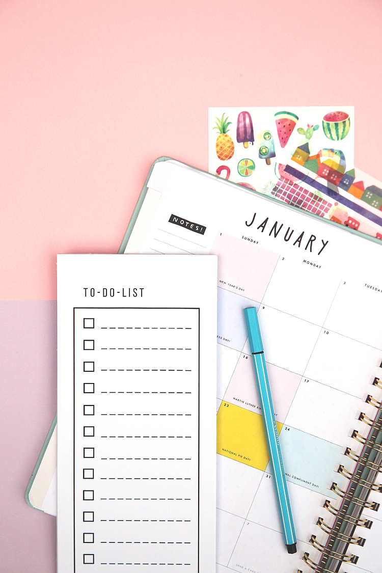FREE PRINTABLE TO DO LIST NOTEPAD. — Gathering Beauty
