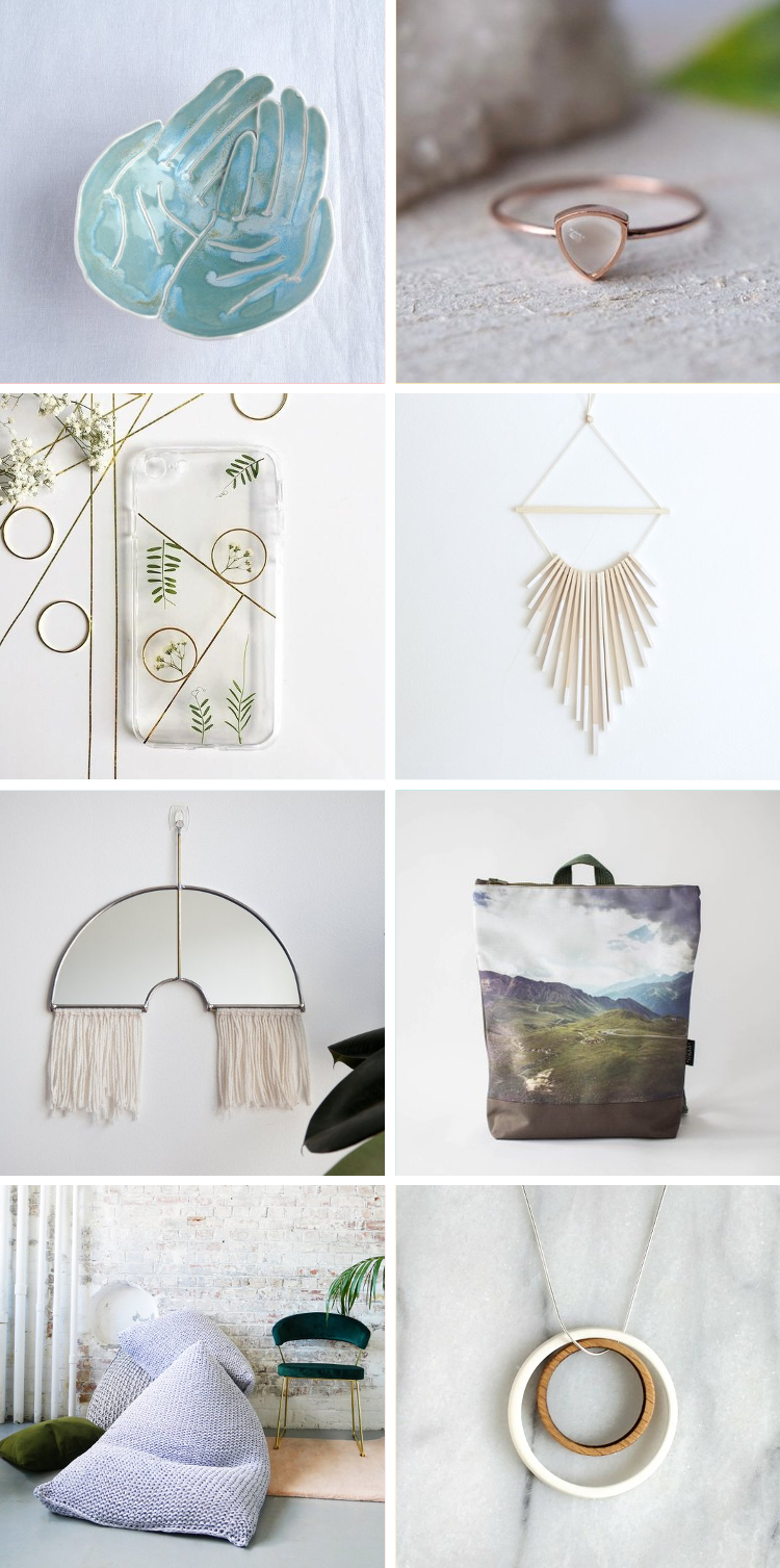 Enjoy a round-up of a few of my favourite things from some of my favourite Etsy shops. #etsy #etsyfinds #etsyfavorites #giftguide #etsygiftguide #gatheringbeauty
