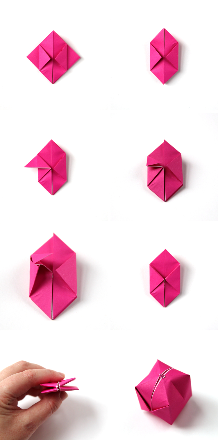 How to Fold Origami Paper Cubes - Frugal Fun For Boys and Girls | 1511x750