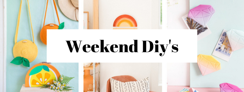 Check out the best weekend diy's round-up