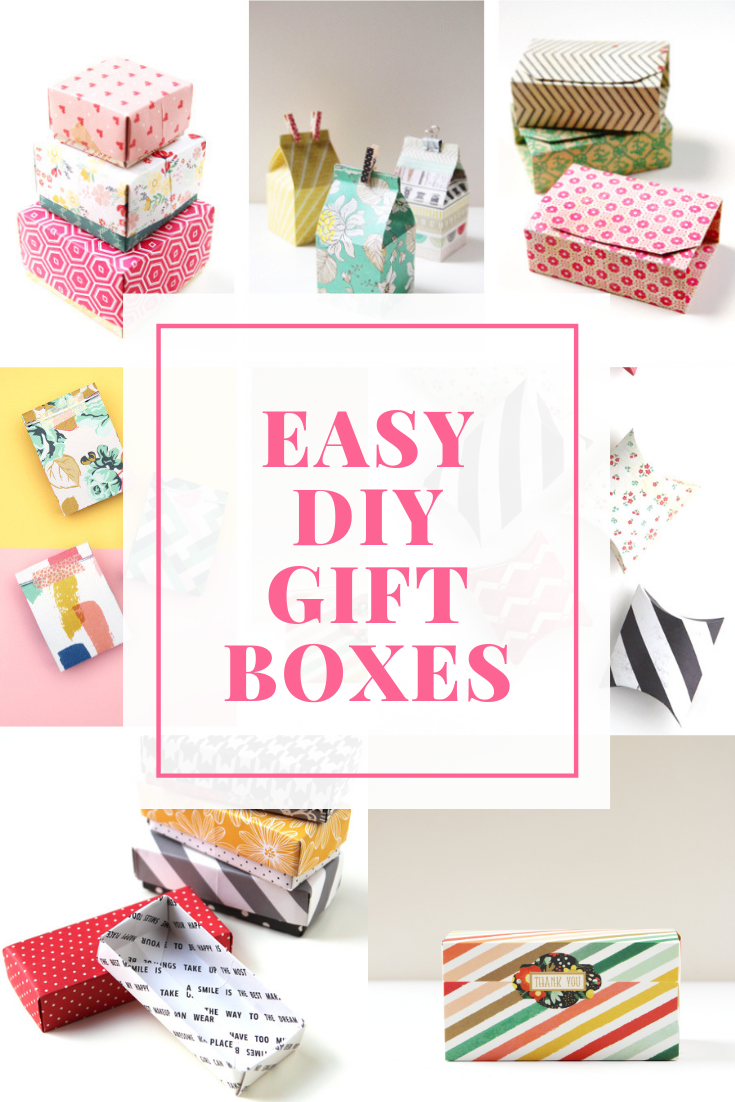 how to make easy diy gift boxes